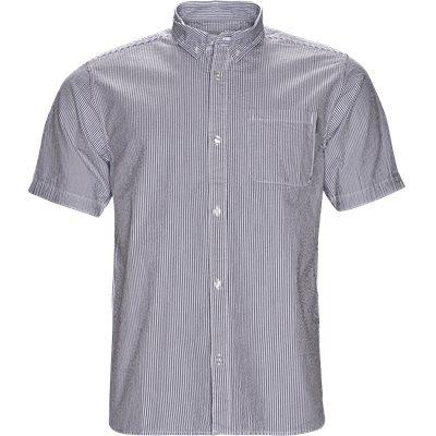 S/S Alder Shirt Regular | S/S Alder Shirt | Blå